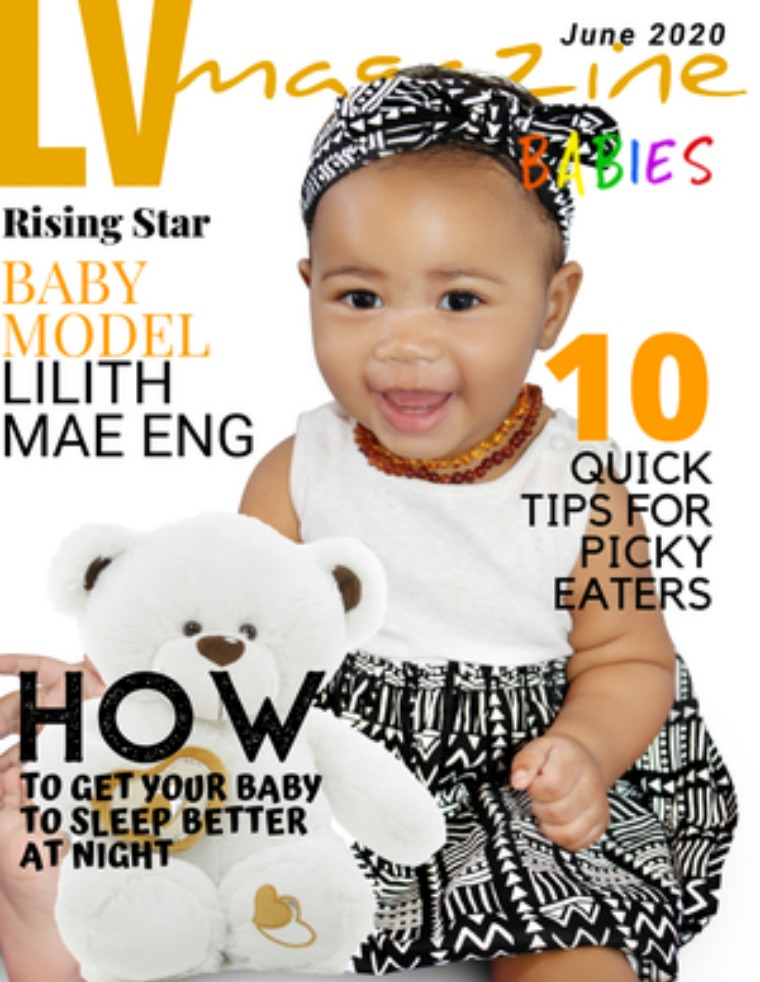 LV Magazine Kids June 2020 Babies Edition