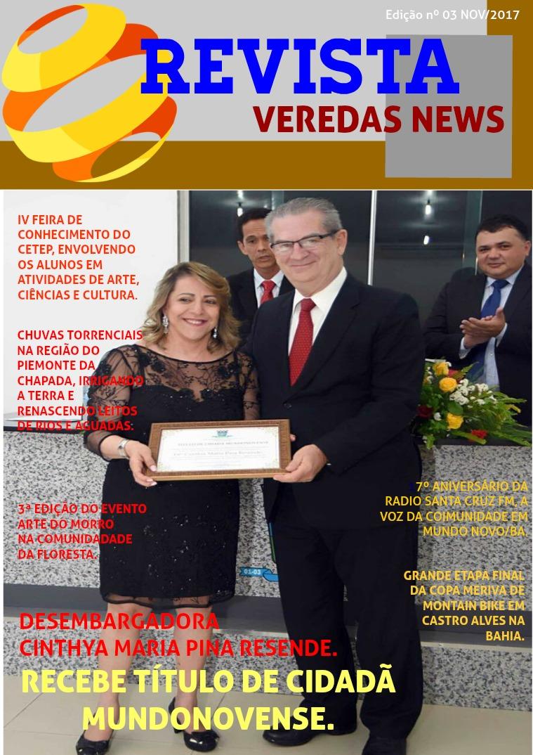 REVISTA VEREDAS NEWS 3ª EDIÇÃO