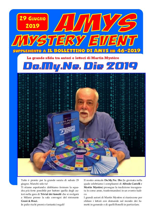 MYSTERY EVENT nr. 13
