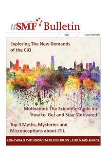 itSMFA 2017 August Bulletin