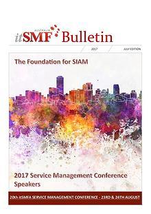 itSMFA 2017 July Bulletin