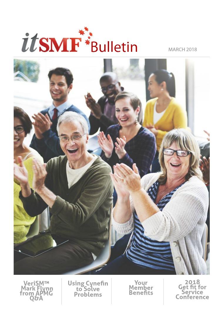 itSMF Bulletin itSMF Bulletin March 2018