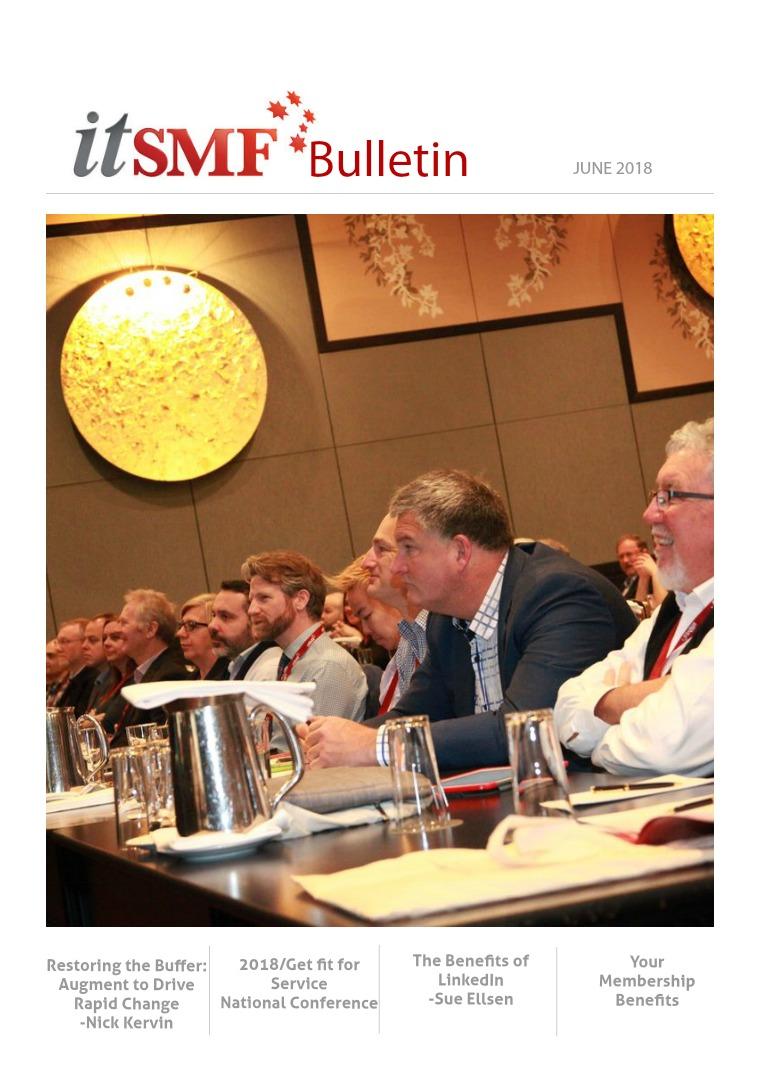 itSMF Bulletin itSMF Bulletin June 2018