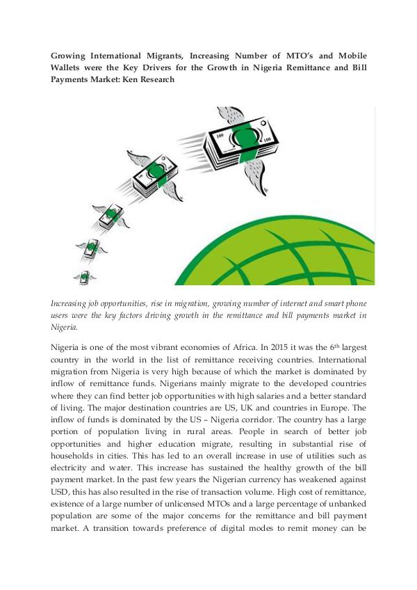 Ken Research - Nigeria Remittance Market Report