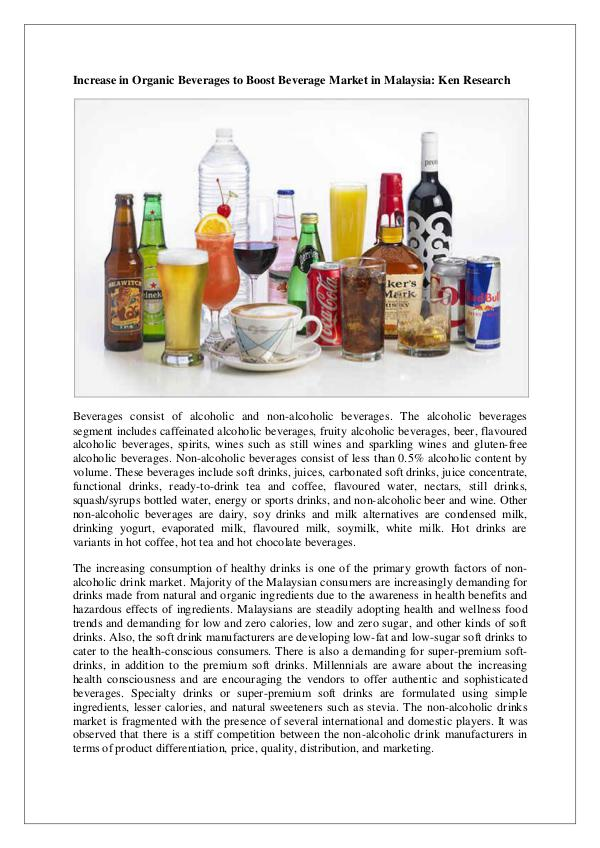 Ken Research - Malaysia Beverages Retail Market