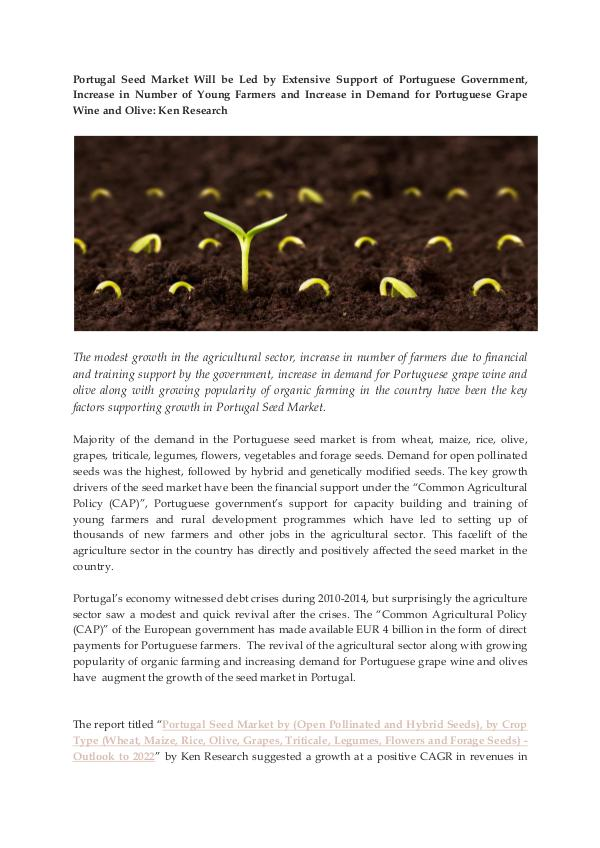 Ken Research - Competition Portugal Seed Industry