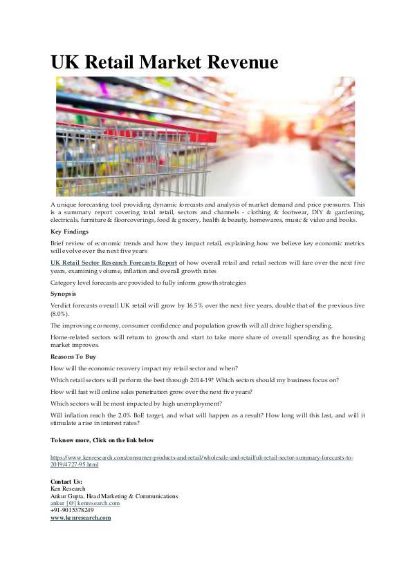 Ken Research - UK Retail Market Revenue