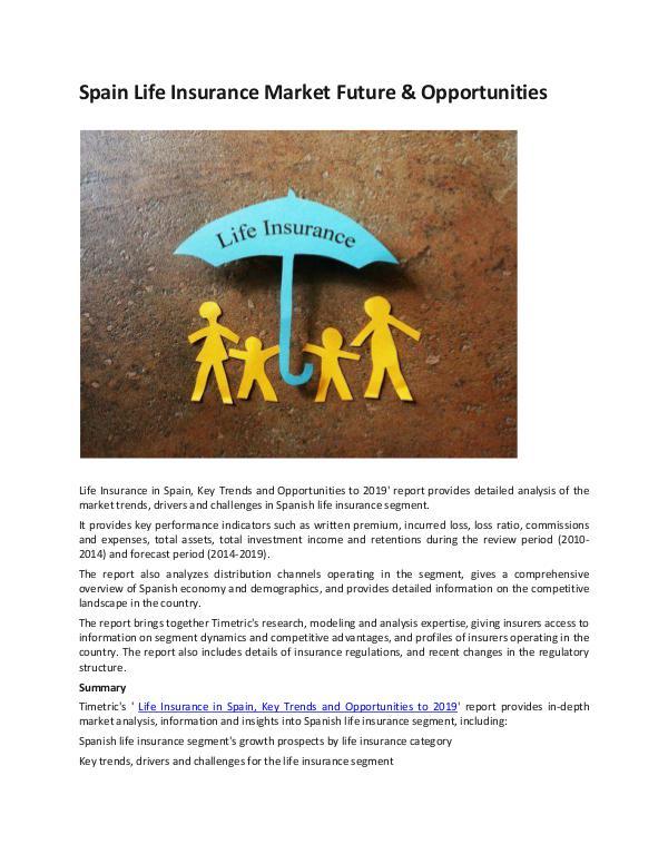 Ken Research - Spain Life Insurance Market Future