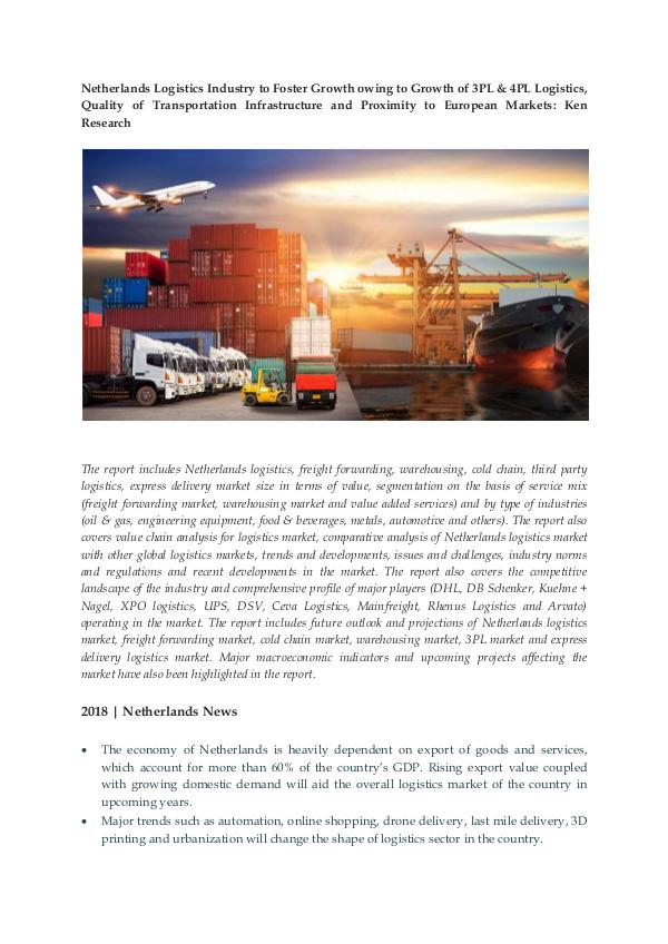 Ken Research - Netherlands Logistics Market