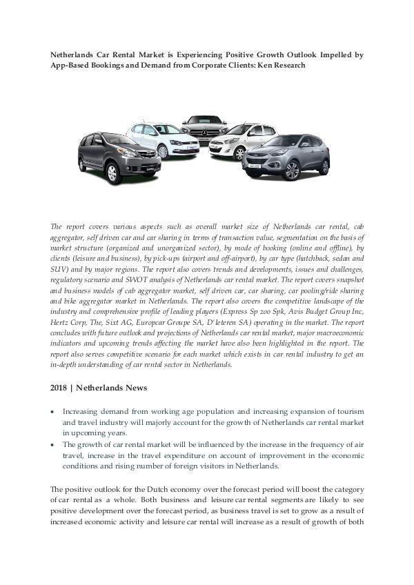 Ken Research - Netherlands Car Rental Market