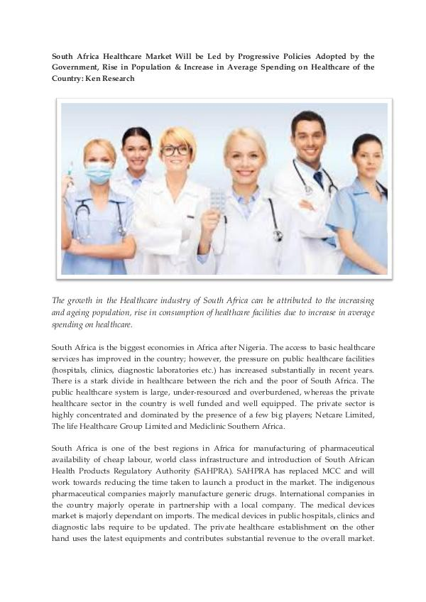 Ken Research - South Africa Healthcare Market