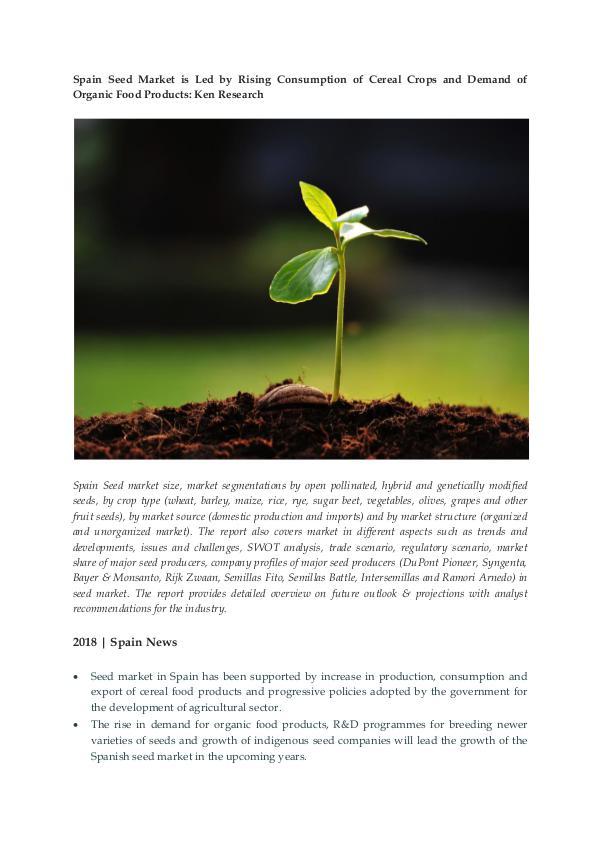Ken Research - Hybrid Seed Market in Spain