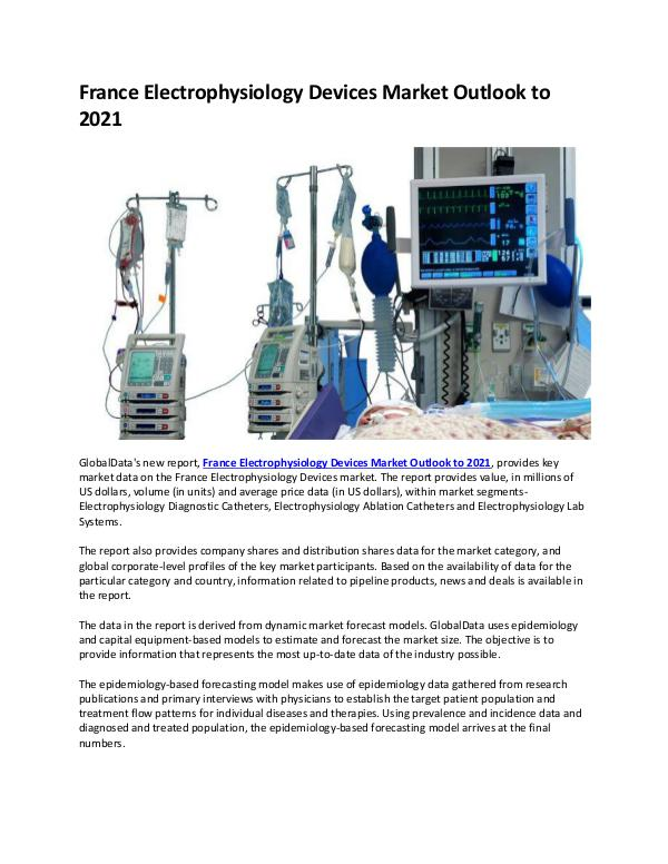 France Electrophysiology Devices Market Research R