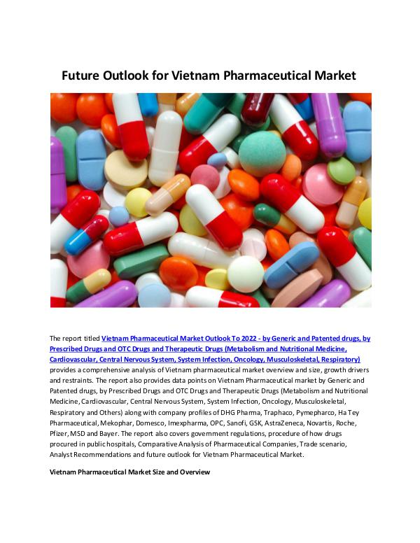 Vietnam Pharmaceutical Market