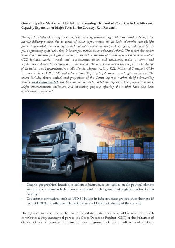 Oman Logistics Market Report