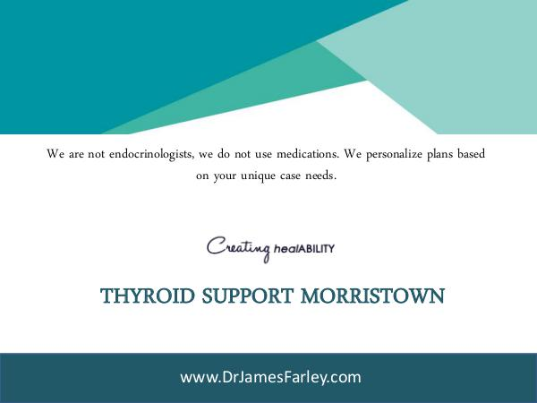 Thyroid Support Morristown Thyroid Support Morristown