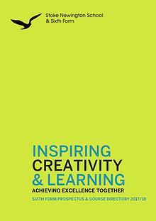 Stoke Newington School & Sixth Form publications