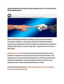 Global Rehabilitation Robotics Market (2018-2025)-GMI Research