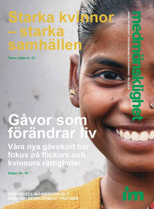 Medmänsklighet nr 4 - Tema Starka kvinnor - starka samhällen