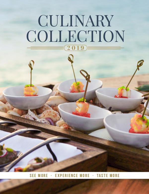 Culinary Collection 2019