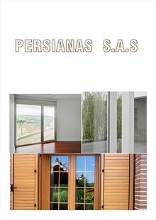PERSIANAS SAS