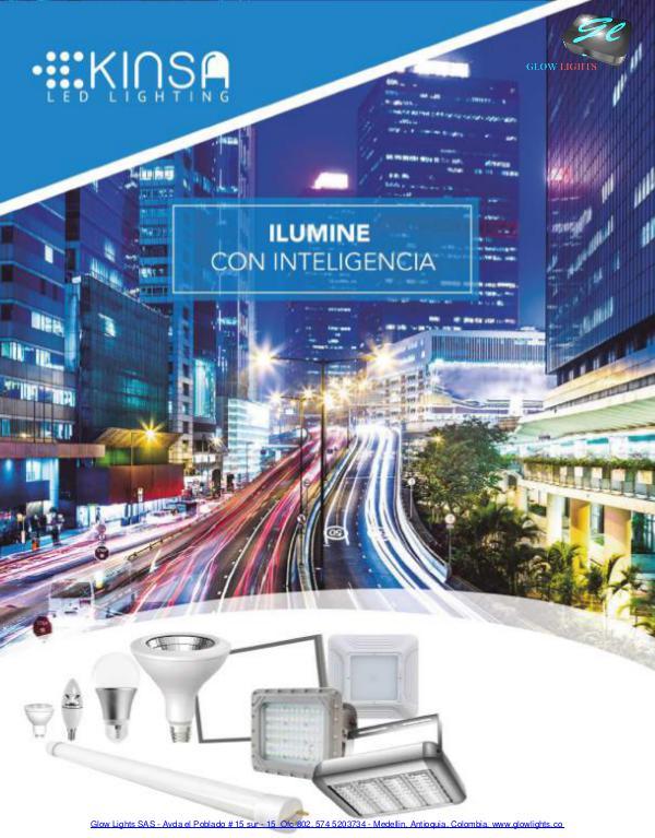 Catalogo Iluminacion led Septiembre de 2017
