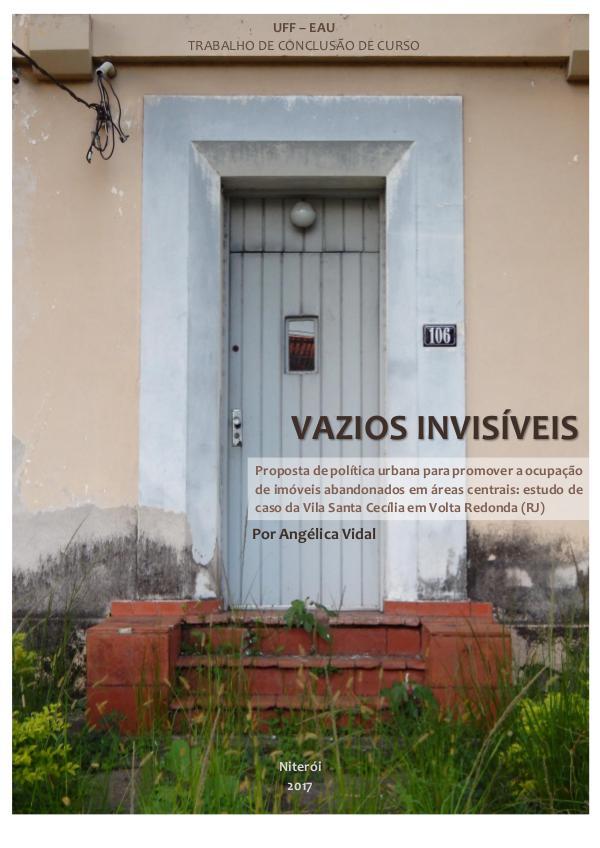VAZIOS INVISÍVEIS Vazios Invisiveis_TCC_Angelica Vidal
