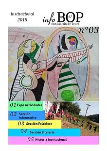 BOP 67. Revista Anual Institucional  N° 2. 2017.