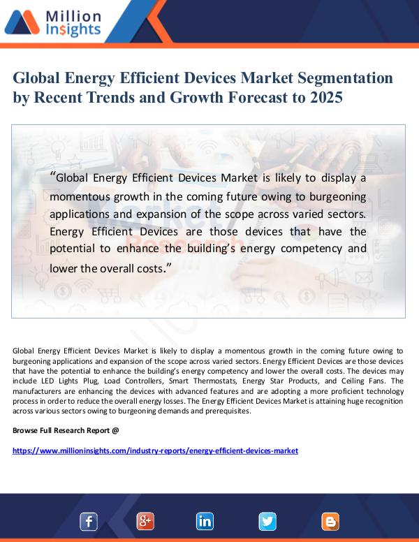 Market Giant Global Energy Efficient Devices Market Segmentatio