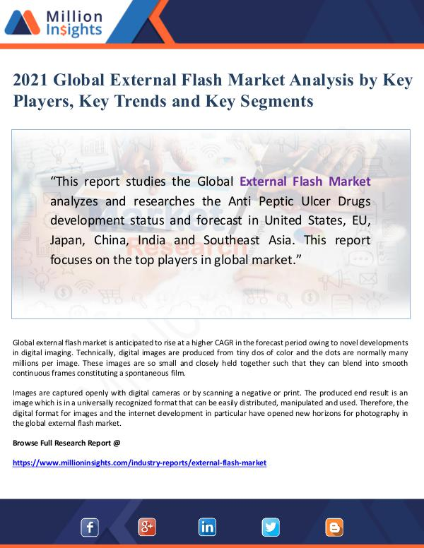 2021 Global External Flash Market Analysis by Key