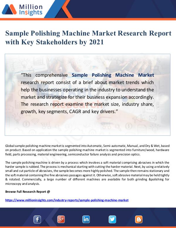Sample Polishing Machine Market Research Report wi