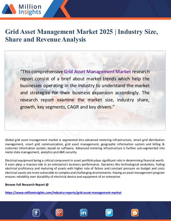 Global Research Grid Asset Management Market 2025- Industry Size,