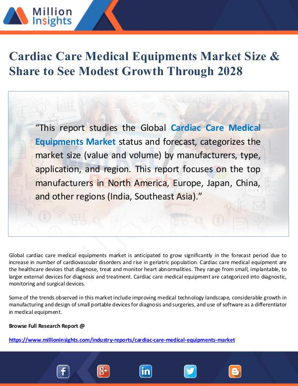 Market Giant Cardiac Care Medical Equipments Market Size & Shar