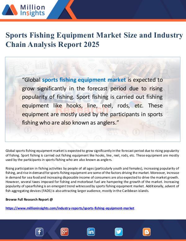Global Research Sports Fishing Equipment Market Chain Analysis Rep