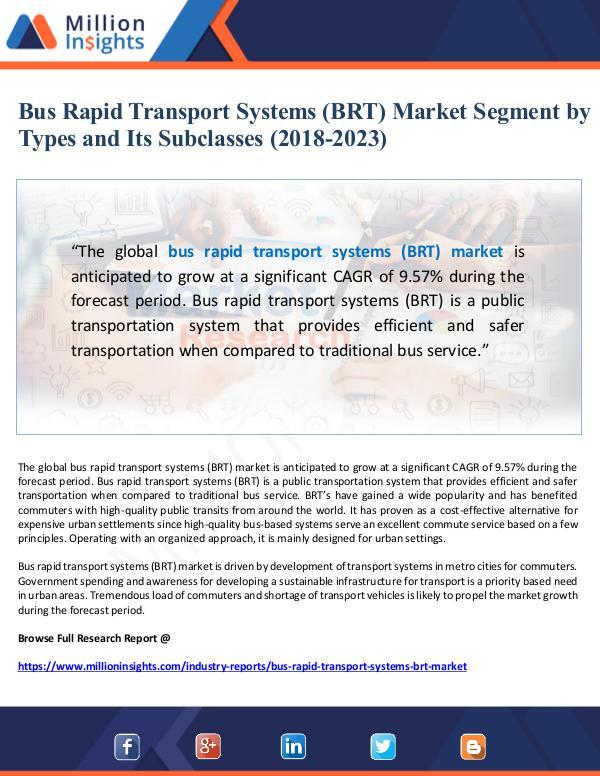 Global Research Bus Rapid Transport Systems (BRT) Market Segment b