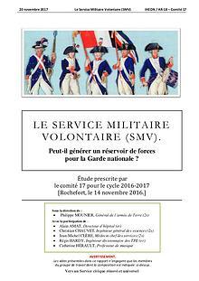 Vers un Service civique rénové et universel