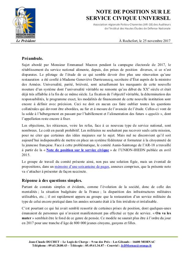 2017-11-25_IHEDN_AR-18_C17_Le Service_Civique_Univ