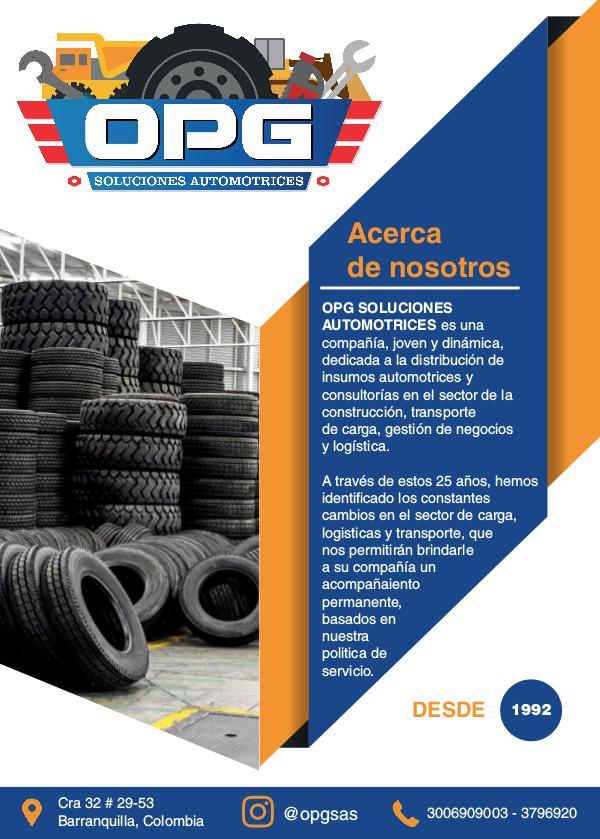 OPG SOLUCIÓNES AUTOMOTRICES flyer
