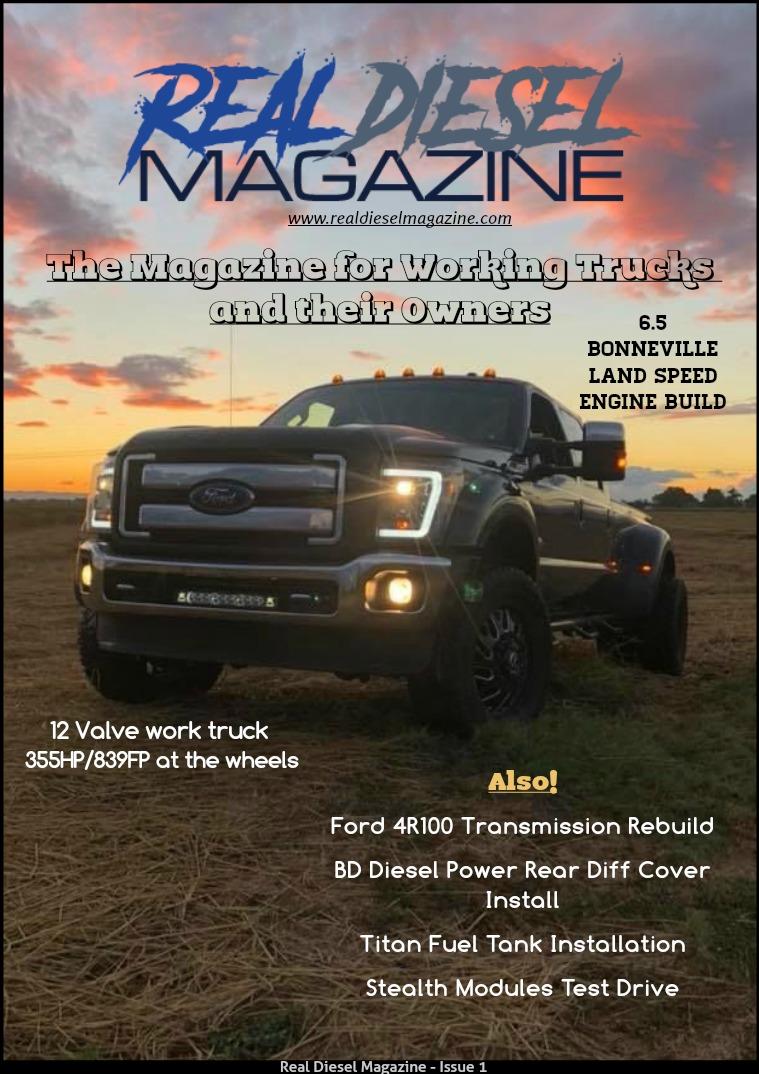 Real Diesel Magazine Digital Issue 1