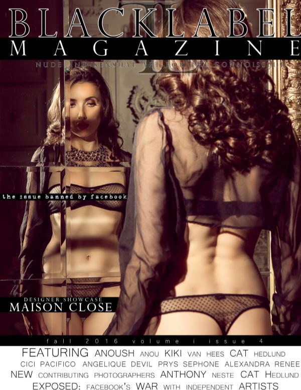 Black Label Magazine Issue #4