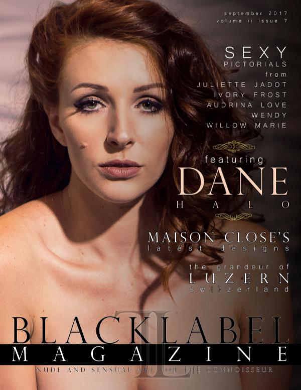 Black Label Magazine Issue #7: The Grandeur Issue