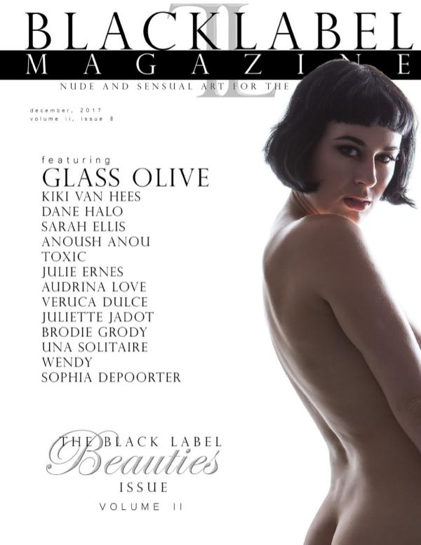 Black Label Magazine Issue #8: The Beauties Issue, Vol. II