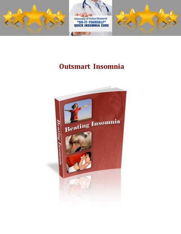 Outsmart Insomnia Protocol PDF / Book Free Download Outsmart Insomnia Protocol Book Free Download