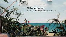 Millie McCallum – Murals, Live Art, Wildlife Illustrator, London