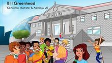 Bill Greenhead - Cartoonist, Illustrator & Animator from UK