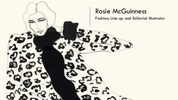 Rosie McGuinness - Fashion, Line-up and Editorial Illustrator, London Rosie McGuinness