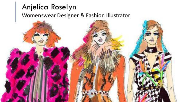Anjelica Roselyn - Womenswear Designer & Fashion Illustrator, London Anjelica Roselyn