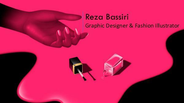 Reza Bassiri - Graphic Designer & Fashion Illustrator, Paris Reza Bassiri