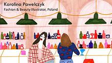 Karolina Pawelczyk - Fashion & Beauty Illustrator, Poland