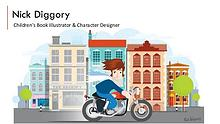 Nick Diggory - Children's Book Illustrator & Character Designer